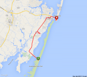 half marathon course map 2015