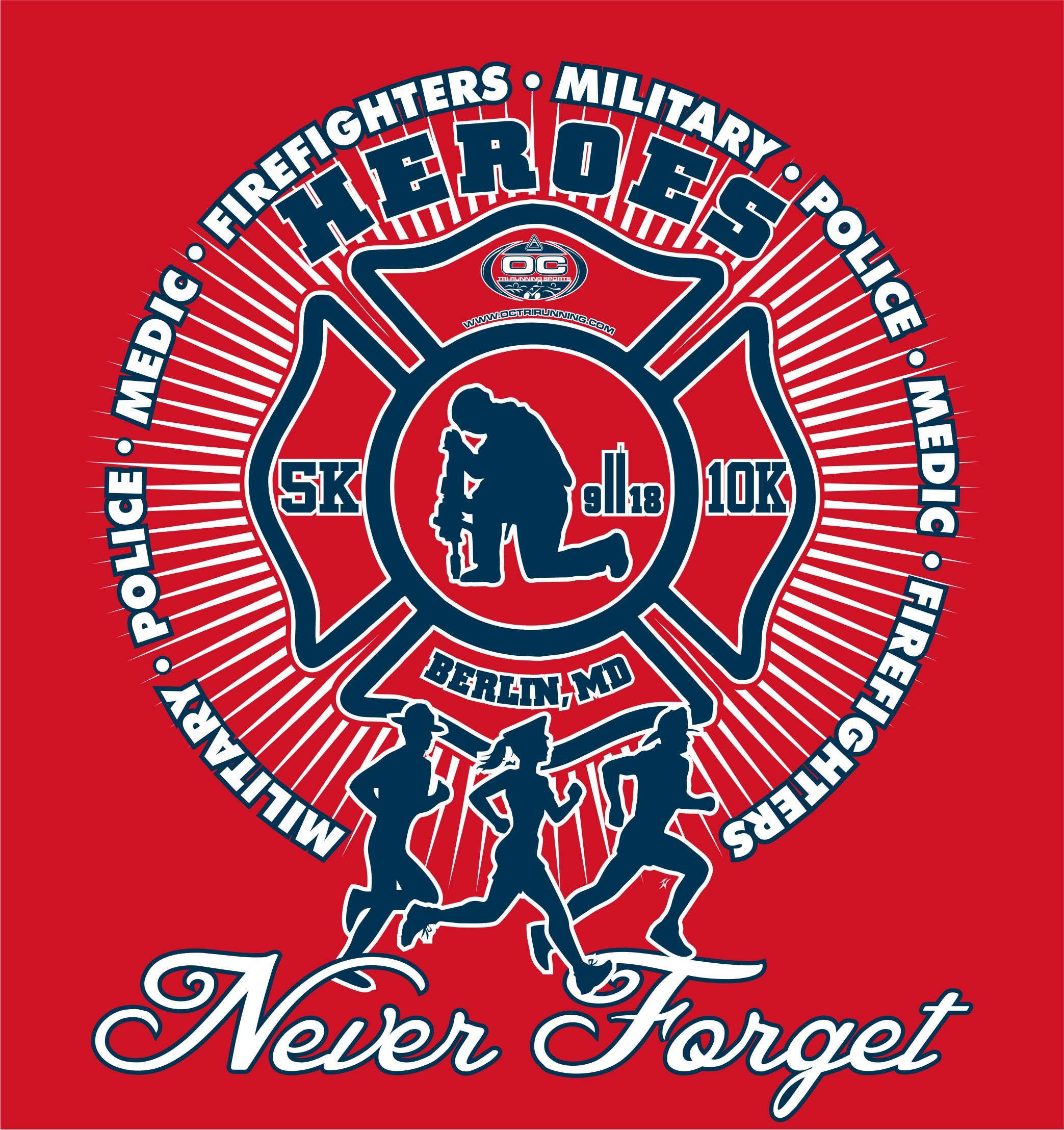 Heroes Never Forget Berlin Fire Dept 2018 Walk/Run