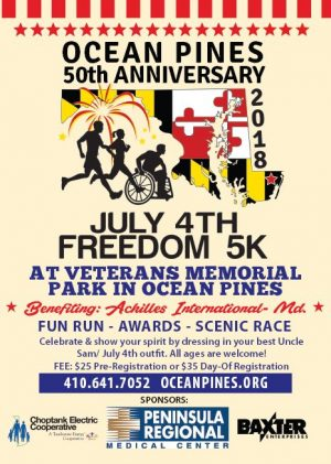 Ocean Pines July 4th Freedom 5K